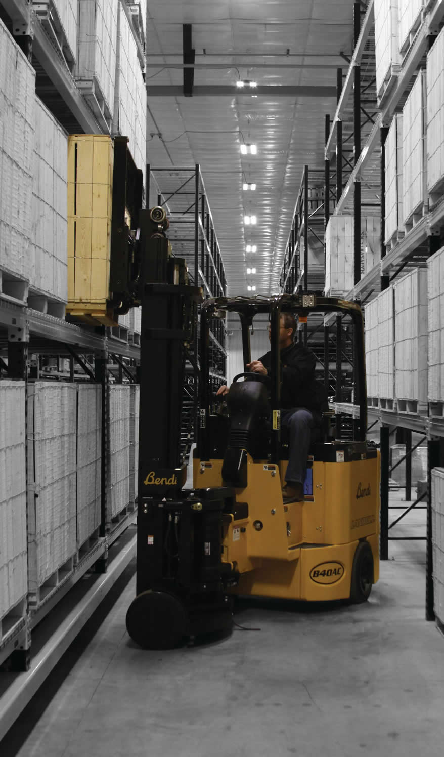 Bendi Articulated Forklifts